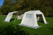 Mess Tent Super 10 FT Extension British Canvas